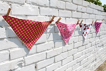 Girls' Bandana Bib - Various Designs