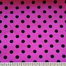 Pink and Black Polka