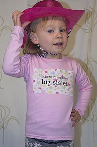 Girl's Big Sister T Shirt