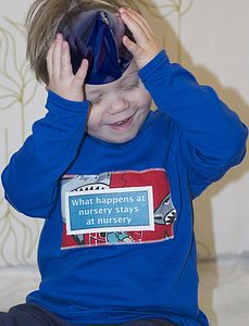 Boy's 'What Happens At Nursery' T Shirt