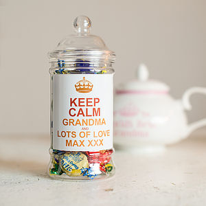 Personalised Toffee Jar - shop by price