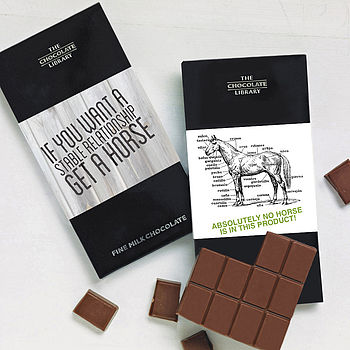 Gift For A Horse Lover Chocolate