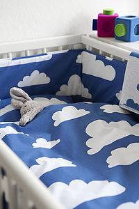 Cloud Bumper - cot bedding