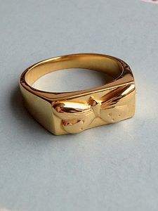 Butterfly Signet Ring