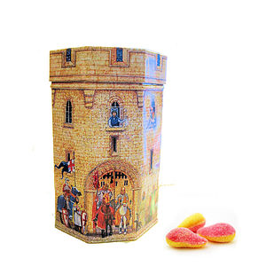 Castle Tin With Sweets