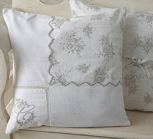 Decorative Violet Cushion Cover