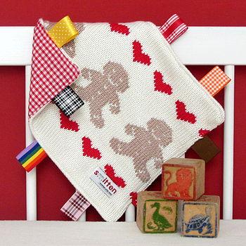 Gingerbread Baby Comfort Blanket
