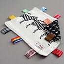 Zebra Baby Comfort Blanket