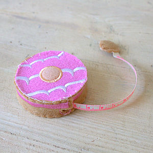 Celebration Biscuit Tape Measure - leisure