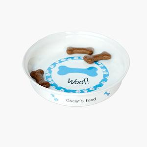 Personalised Dog Bowl - dog bowls & mats
