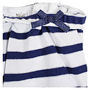 Girls Navy Nautical Summer Playsuit