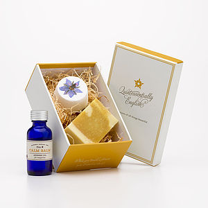 Calm Balm Therapy Gift Box - skin care