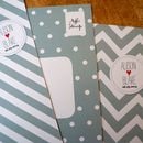 Spots And Stripes Wedding Stationery Range