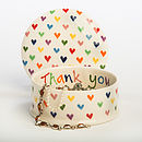 Personalised Hand Painted Love Heart Box