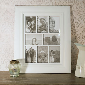 Vintage Style Multi Photo Frame - art & pictures