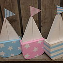 Sailboat Decoration