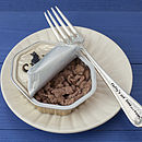 Personalised Pet Food Fork