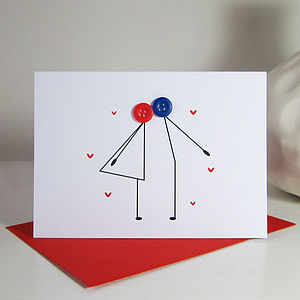 Kissing Couple Card - cards