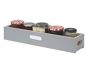 Long Painted Storage Box - boxes