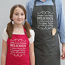 Personalised 'Grandad And Me' Apron Set