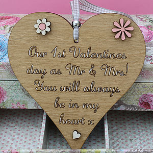 Personalised Heart Keepsake