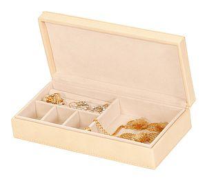 Cream Jewellery Box - jewellery storage & trinket boxes