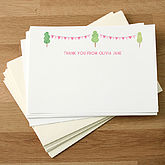 Personalised Christening Thank You Cards - cards
