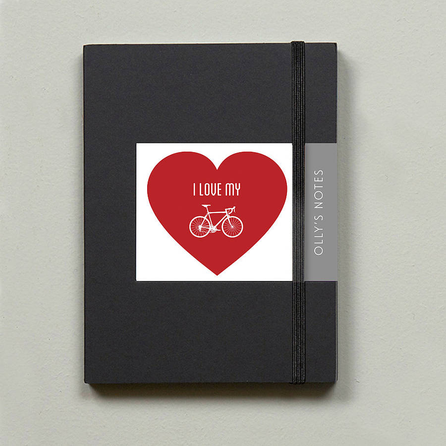 Bike Lovers Notebook