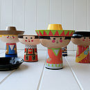 Disney Small World Mexican Dressed Breakfast Set