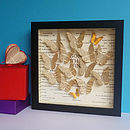 'Gone With The Wind' Butterfly Artwork