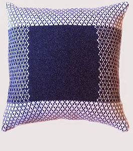 Lambswool Knitted Cushion - patterned cushions