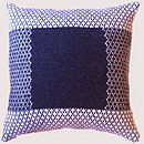 Lambswool Knitted Cushion