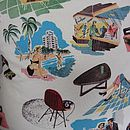Retro 50's Cushion Cover