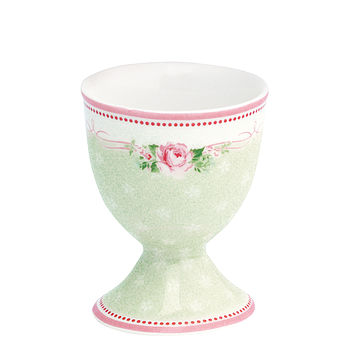 Handfinished Amelie Rose Egg Cup