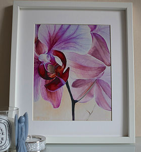 Orchid Fine Art Giclee Print