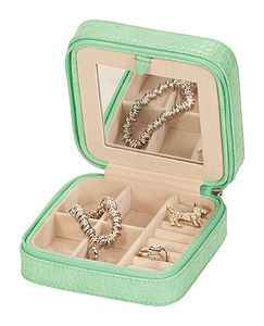 Ladies Travel Jewellery Box - jewellery storage & trinket boxes