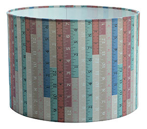 Tape Measure Lampshade - lampshades