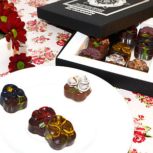 The English Garden Caramel Chocolates - chocolates & confectionery