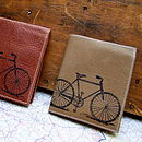 Bicycle Print Wallet