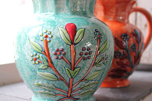 Ceramic Wild Flower Jugs
