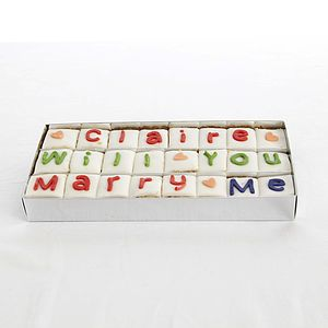 Personalised Handmade Say It With Cake - food & drink