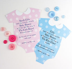 Personalised Baby Shower Invitation - baby shower