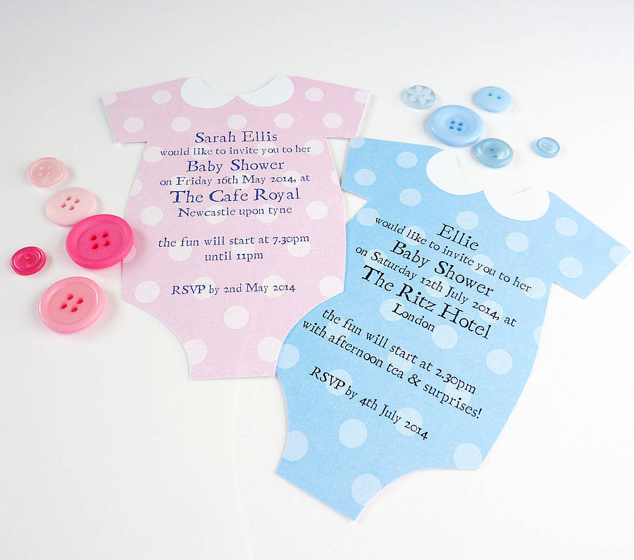 Personalised Baby Shower Invitation