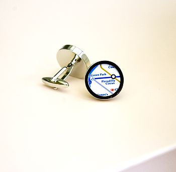 Tube Map Cufflinks