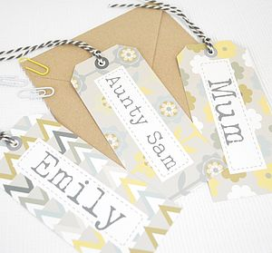 Personalised Gift Tag - wedding favours