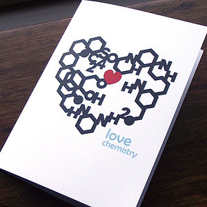 Love Chemistry Card - shop by category