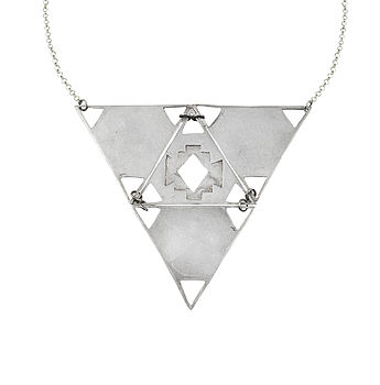 Large Triangle Neck Piece