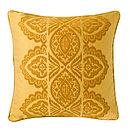 India Cushion Peela/Gold Front
