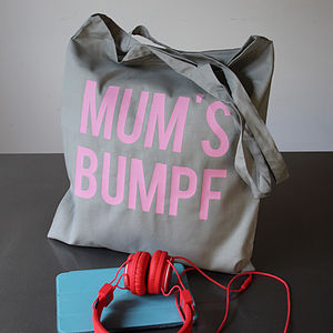 Custom Block Text Tote Bag - baby & child
