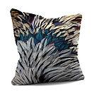 Blue Feathers Cushion